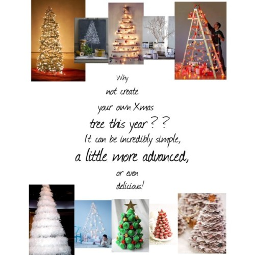 Who doesn't want a Christmas tree in every room? Try starting with one real tree and creating the others! Hopefully these will get you inspired to try something a little different.   Want to learn how to make your own version of the feather boa tree?