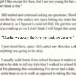 ❤ #The #perks #of #being #a #wall #flower