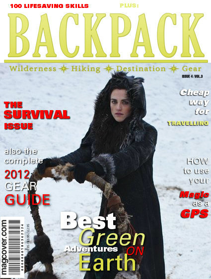 Morgana's magazine cover.