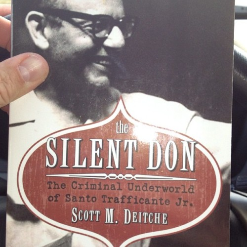 Picked up this book about the mafia's activity In the neighborhood I grew up in (ybor city). Puts a whole new spin on your childhood!