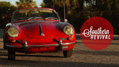 Viewfinder: Southern Revival. Just a man and his Porsche 356.