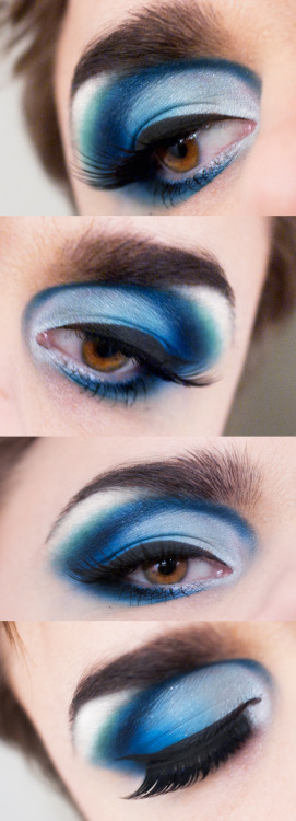 makeupbeauty:  beautiful work done by Linda Hallberg!