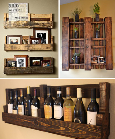 DIY Inspiration! Pallet Furniture  THAT WINE RACK!