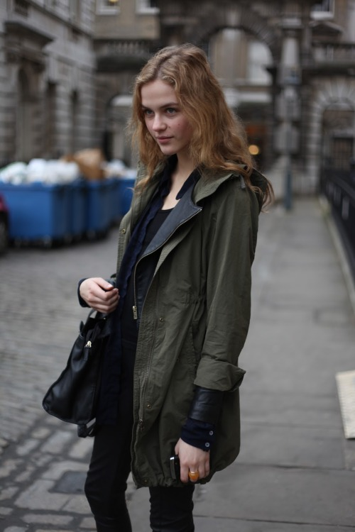 kendaatlarge:  london fashion by paul: street muses - a portrait from somerset house, london.