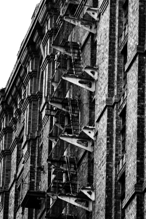 Would you want to use this fire escape?