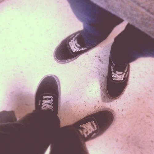 Me nd @forgottenremy #vans #friends #shoes
