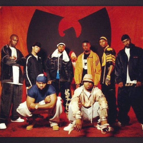 cuefilmshd:  Best Hip Hop group of all time hands down. Peep Cappadonna in the middle of the W #Wu #WuTang #Shaolin #Rap #HipHop #Music