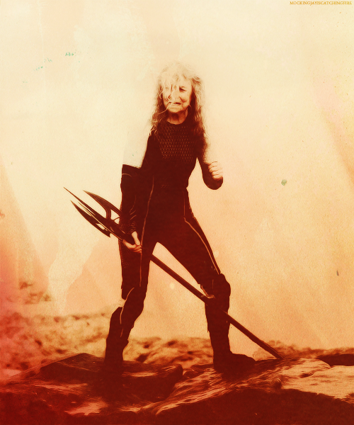 "Mags|District 4 Female Tribute ""It was obvious she didn't volunteer because she thought she could win, she did it to save her."""
