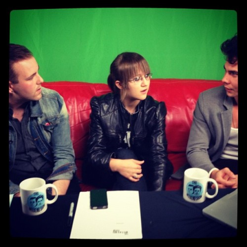 Special guest live on the weekend show! Stalker Sarah!