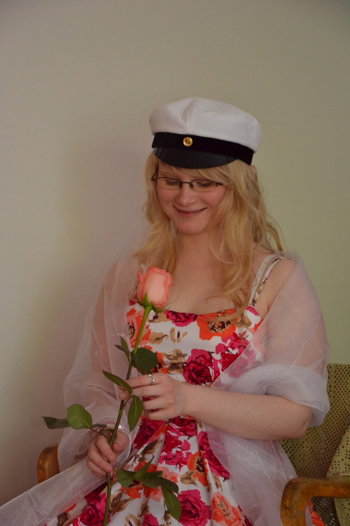 A random picture of me from my graduation day in June 2011. I just wanted to show how I looked on that day :D