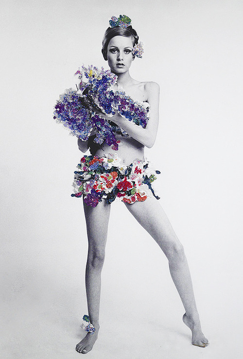Twiggy for VOGUE, 1967. Photo By Bert Stern
