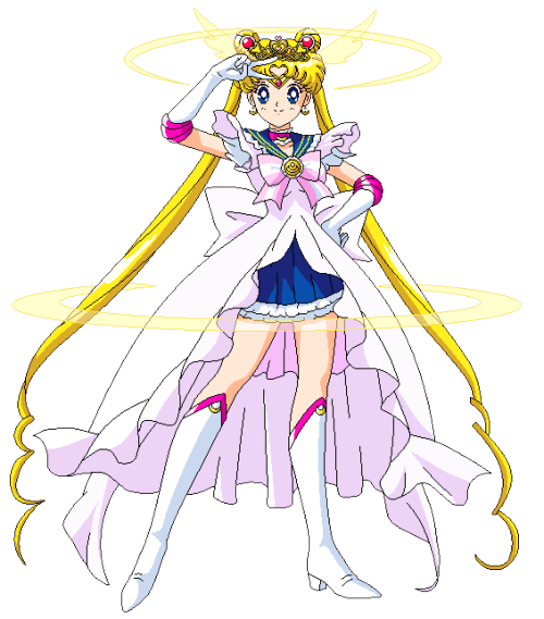 wolflun:  Princess (Precure) Sailor MoonBy http://lovzdream.tumblr.com