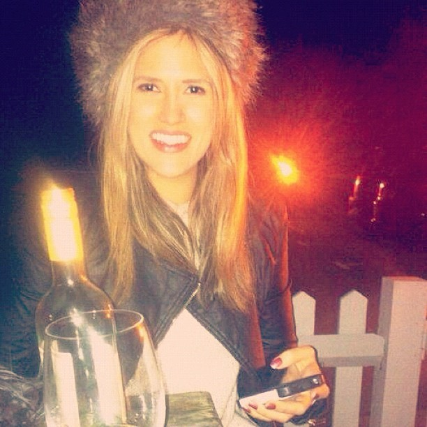 #winter #night #fluffy #hat #leather #jacket #smile… Working hard : deserved drink …. Always reward yourself for your #success #gwenstefani #shoot published and #helenabosmancarter published :) happy #girl more too come !!!!