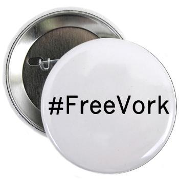Want a #FreeVork button? We have some official ones at the Geek & Sundry Cafe Press store!