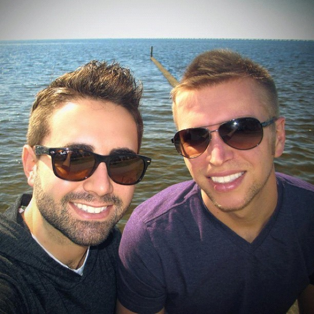 Lake Ponchartrain #photos #me #gay #gayboy #boyfriend #guy #boy #lakefront #nola #neworleans #la #mandeville #vacation #thanksgiving @aaronjcoriell
