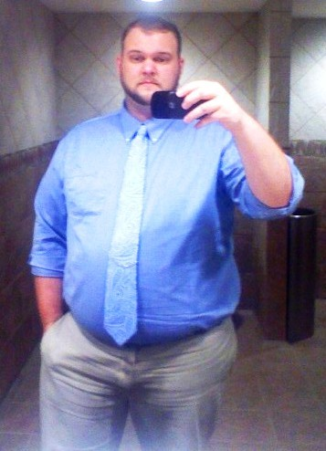 bodypositivityforguys:  Work does not require a tie, but I still like wearing them because I look like a boss. I took this Monday, then proceeded to make Monday my bitch. Come talk to me theogtrekkie.tumblr.com