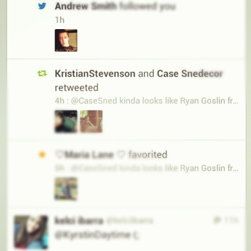 That's right guys! This is the second time Case has retweeted me! #bejealous #menttobe #husband #cutedrummer #casesnedecor #case #snedecor #beautiful #issues