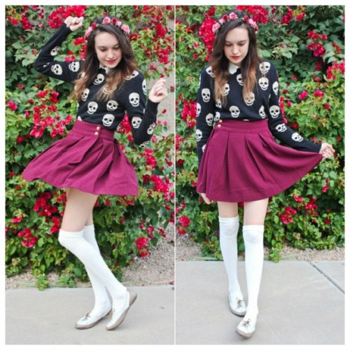 littlefinch:  I'm always happier on days that I'm wearing a cute outfit c:(follow my instagram!! @littlefinch) <3