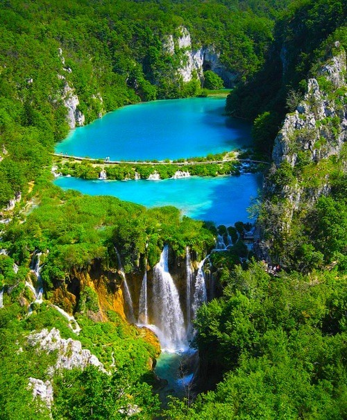Plitvice National Park, Croatia photo via kimberly