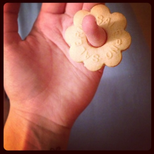 Who remembers when we could fit these on all of our fingers 😢 #buttercookies #tiny #young