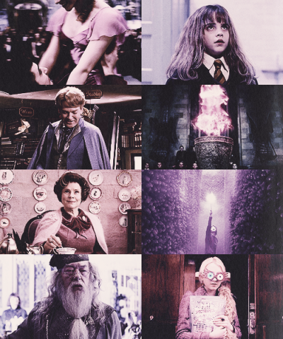 Harry Potter + Pink/Purple - requested by marajesty