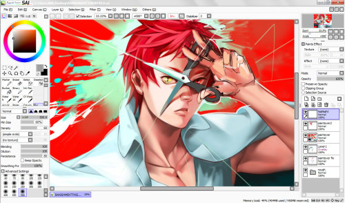 wscale:  Have sum unnecessarily rendered Akashi   Nuoorrghh so prettyyy ;A;;;