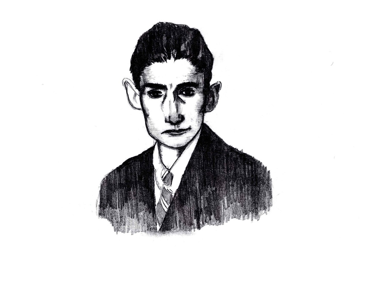 piercehargan:  Franz Kafka Certainly within my top 5 writers. Reading Kafka changed the way I write and what I want to write about. Other than Akira Kurosawa and Jose Saramago, Kafka may have the greatest influence on my work outside of comics.
