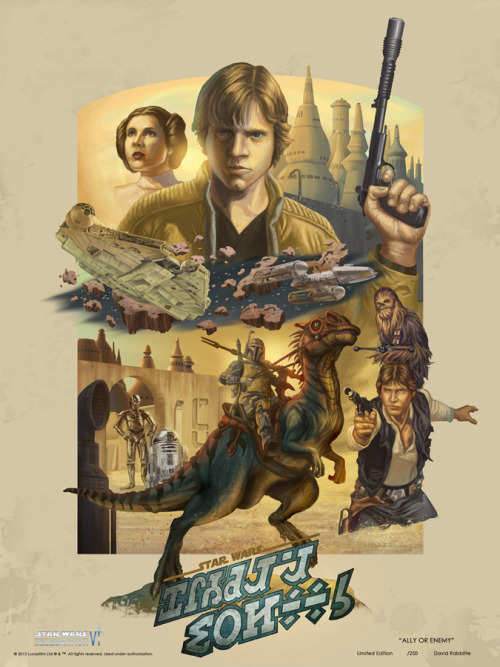 geeksngamers:  Star Wars Celebration VI Art - David Rabbitte Artist's Website | Twitter