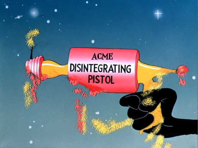 "Acme Disintegrating Pistol: As seen in ""Duck Dodgers in the 24 1/2th Century"" (1953)"