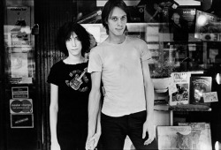 sadskinhead:  Patti & Tom