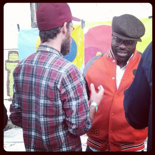 Oh, and I got to kick it with Black Thought. Da fuuuuck?!