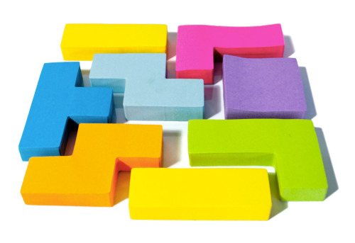 it8bit:  Tetris Sticky Notes 2-pack available for $18 USD at Fab.
