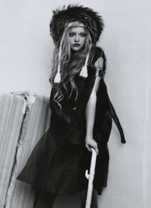 """The Now Mix'N'Match"": Gemma Ward by Emma Summerton for Vogue Italia May 2008"