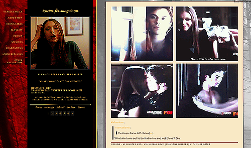 thedamonicsalvatore:  Follow this amazing AU Elena. She's super creative and has awesome storylines going on.