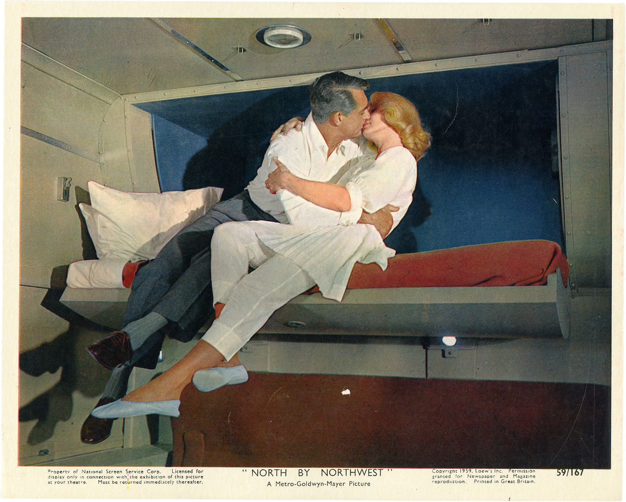 North by Northwest, US lobby card. 1959 Submitted by videorecord