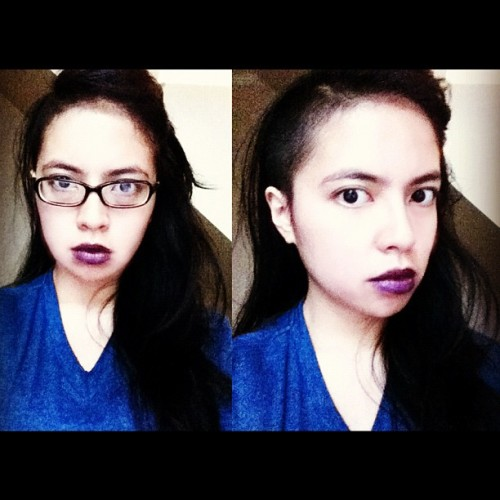 Shoot na natin undercut ko, @jashybee! Like my lip color? Buy the lipstick from facebook.com/dulltodoll :)