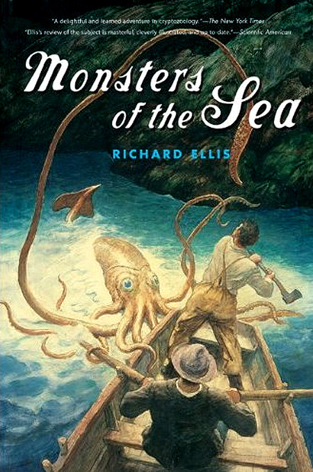 "A Cryptid Chronicles Book Review: Monsters of the Sea Author: Richard Ellis, 448 pagesSydney C. Squidney's rating: 5/5Bookshelves: folklore, cryptozoology, marine-biology, reference, research, sea-monsters, ancient-mysteries, ocean-science-and-history, mythology Originally posted at http://www.goodreads.com/review/show/310064976The review:A great voyage of discovery ""Monsters of the Sea"" is for those with a great curiosity about the mysterious creatures that lurk beneath the surface of the sea that humans have sometimes been granted glimpses of. For as long as we've been curious, our access to the oceans' mysteries have and still remain so limited that sea monster legends have endured to this day.Sea monsters are often considered some of the earliest cryptids to inspire countless popular myths and recent discoveries of giant squids (such as the massive 25 foot-long cephalopod photographed nearly 3,000 feet beneath the North Pacific Ocean off Japan's Ogasawara Islands in September 2004) have lent a basis of fact to some of those legends.Holy Squid! First Glimpse of Live Deep-Sea Giant (National Geographic News September 27, 2005)In a revealing, well-composed and enthralling assemblage, marine biologist Richard Ellis charts the origins of an assortment of legendary ""sea monsters"" including sea ""serpents"", giant squids (kraken), sharks and the ""leviathan"" or whale that frightened mariners of centuries past and brings the natural history and science of the real animals behind the myths.All the Kraken stories and rumors about sea monsters going back centuries are outlined and then using scientific exploration and (sometimes speculative) scientific evidence, the world's deep sea monsters are explained leading the reader into the vast world of marine biology.I particularly enjoyed the alternating between the mythological accounts about sea monsters and the reviewing of the ocean animals for what they actually are based on available facts, including 150 fascinating illustrations showing how actually a certain known marine animal was reasonably mistaken for a ""monstrous"" sea creature.Another favourite I had was the chapter about globsters (organic masses that wash up on the shoreline distinguished from normal beached carcasses by being hard to identify) and how he theorises that Octopus giganteus could account for some of these phenomena.If you don't want to have your sense of wonder debunked, you may want to stay away from having the sea monster myths and realities separated by Ellis, since that is the primary structure of this book, however he does leave some room for speculation and because he is also a Great white shark expert, it is mind-boggling that he has concluded that the monster shark Megalodon has only become extinct as close as 10,000 years ago in another of his books, Great White Shark.This is a great voyage of discovery for those interested in fantastic accounts of myths, legends, and unexplained sea monster sightings and learning more of the story behind them.Monsters of the Sea provides a comprehensive overview of sea monsters, so there is a lot to cover and can be a little heavy at times, but well worth the read.If you're interested in obscure accounts of historical legends, early naturalists, cryptozoology or marine biology you will probably have a lot of fun with this very well researched resource.One thing is for certain, if one of America's leading marine biologists thinks that the St. Augustine monster that washed ashore a century ago was actually a 200 foot octopus, then we still have much to learn about the legendary and mysterious Monsters of the Sea! If you enjoyed this book review please comment, Like ❤ and share! Thank you!Discover more cryptids and mysterious creatures at Cryptid Chronicles and let me know what cryptid you most believe in!Your Chronicler,Sydney C. Squidneycryptidchronicles.tumblr.com"