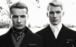 ★ Nicklas Kingo & Morten Rex ★ Photographer: Nielsen Omvik ★ Styling: Julie von Hofsten ★ For Bon Magazine Fall/Winter 2012 Issue