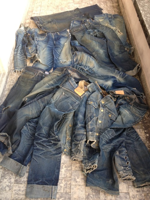 rawrdenim:  A Series Of Personal And Evolutionary Denim Fades