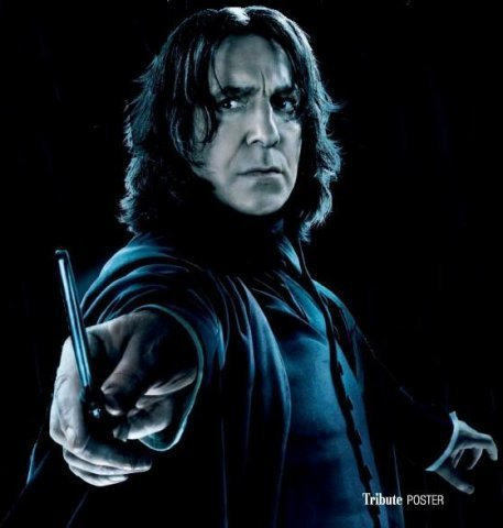 "severus-snape-my-eternal-prince:  Artist: unknown. ""Tribute Poster"""