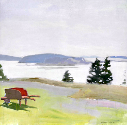 bofransson:  Fairfield Porter (1907-1975) The Barred Islands