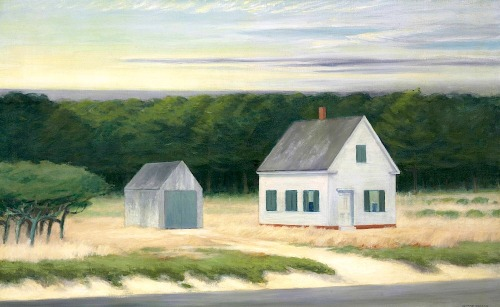 bofransson:  Edward Hopper (1882-1967) October on Cape Cod