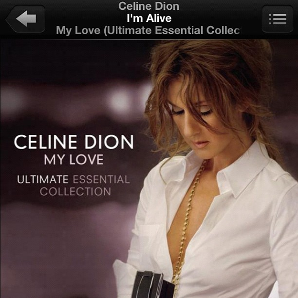 HBIC turning it out. #celinedion #vocalwerk