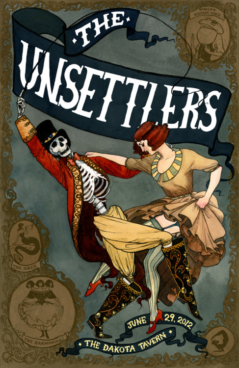 fer1972:  The Unsettlers Poster by Serena Malyon