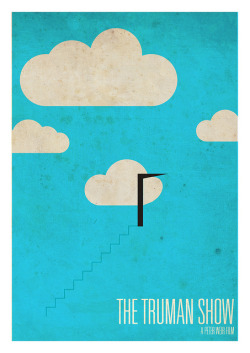minimalmovieposters:  The Truman Show by Tom Cross