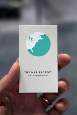 (via FPO: The Map Project Business Cards)