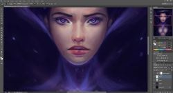 WIP, something just for relaxation :) Heh, just going with the flow xD