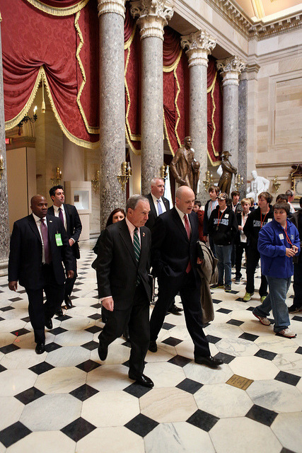 "nycgov:  Yesterday, Mayor Bloomberg visited Washington DC joined by Senator Charles Schumer and Senator Kirsten Gillibrand to ask for fiscal help from the federal government for Hurricane Sandy relief efforts. In New York City, the public and private losses caused by Hurricane Sandy, which were not covered by private insurance come to $15.2 billion.  New York City's recovery is vital to America's continued economic recovery and growth. Read the Mayor's remarks delivered yesterday at the U.S Capitol Building at http://on.nyc.gov/UdLnVc.  Highlight from the remarks: ""We haven't waited for the help that we hope to get from Washington to come, but given the scale and the impact of the storm, Federal assistance is clearly warranted."""