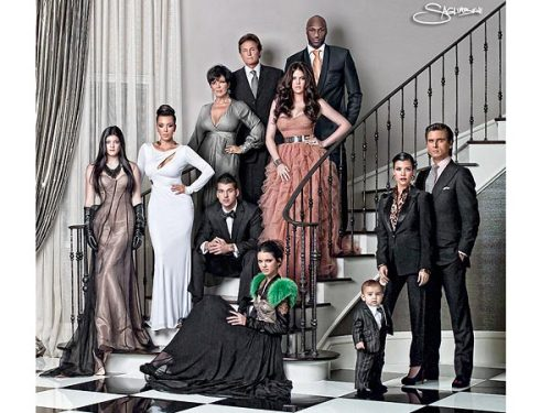 "is anything real about this family??? Khloé Kardashian on Her Family's 'Perfect' Christmas Card  ""We pretend that we're always together…The powers of cameras and Photoshop."" i.e. If a family member can't attend the shoot, they get Photoshopped in to make the picture complete.   (via People.com)"