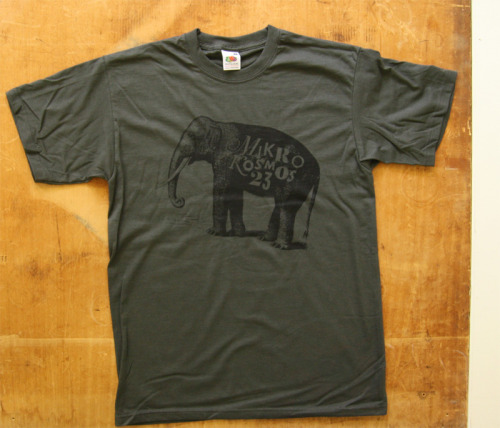 "T-Shirt ""Elefant"" 13€ [dunkelgrau in S, M & L]"
